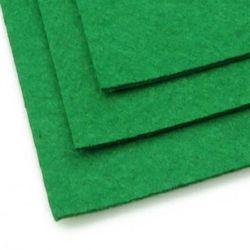 Fabric Felt Sheet, DIY Crafts Sewing Decoration 2 mm A4 20x30 cm color green dark -1 pc