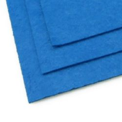Acrylic Felt Sheet, DIY Craft Handmade 2 mm A4 20x30 cm color blue -1 pc