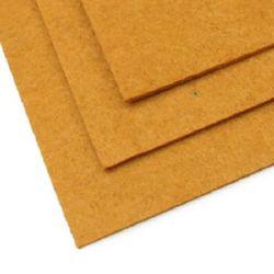 Fabric Felt Sheet, DIY Crafts Sewing Decoration 2mm A4 20x30 cm color brown light -1 piece