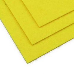 Филц 2 мм A4 20x30 см цвят жълт светло -1 брой