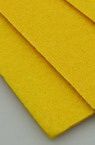 Acrylic Felt Sheet, DIY Craft Handmade 3 mm A4 20x30 cm color yellow -1 pc