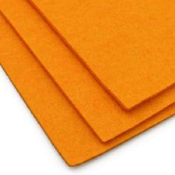 Филц 3 мм A4 20x30 см цвят оранжев светло -1 брой