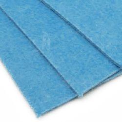 Pâslă 3 mm A4 20x30 cm culoare albastru -1 bucată