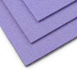 Филц 3 мм A4 20x30 см цвят лилав бледо -1 брой