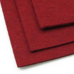 Foaie de pânză din pâslă, DIY Craftwork Scrapbooking 3 mm A4 20x30 cm color cu gresie -1 buc