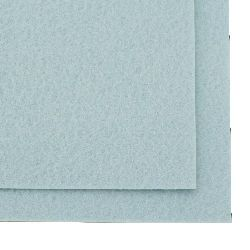 Felt Fabric Sheet, DIY Craftwork Scrapbooking 3 mm A4 20x30 cm color blue pale -1 pieces