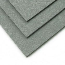 Felt Fabric Sheet, DIY Craftwork Scrapbooking 3 mm A4 20x30 cm color gray -1 pc