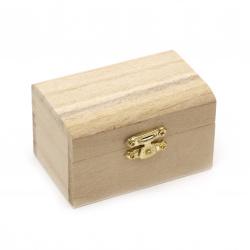 Cutie din lemn 90x53x50 mm