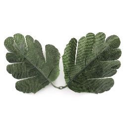 Fabric Leaf Branch for Decoration 80x100 mm - 4 pieces of twigs