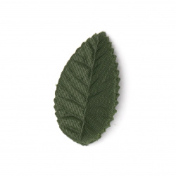 Leaf textile for decoration 25 x 15 mm