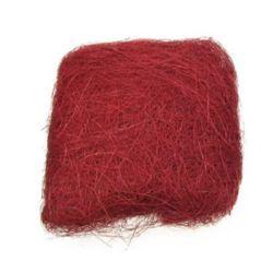 Iarba de nucă de nucă de culoare rosu -50 grame