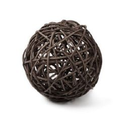 Rattan Bamboo ball for decoration 95 x 95 x 95 mm