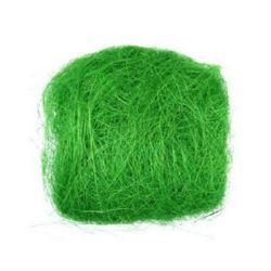 Кокосова трева зелена светла -50 грама