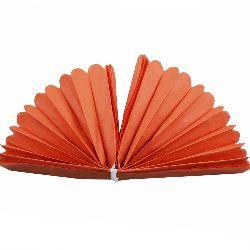 Tissue Paper Pom Pom for Decoration Orange 400x33mm