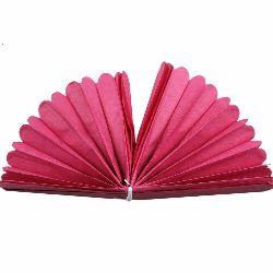 Tissue Paper Pom Pom for Decoration Cyclamen 400x33mm
