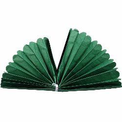 Хартиен помпон за декорация 400x33 мм тишу хартия зелен тъмен