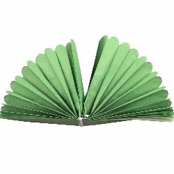 Tissue Paper Pom Pom for Decoration Light Green 400x33mm