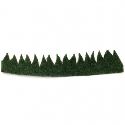 Grass for decoration 210x40 mm green - 2 pieces