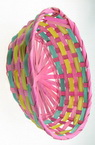 Basket wooden 200x250x80 mm colored