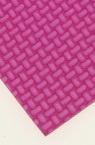 EVA материал /микропореста гума/ 2 мм А4 20x30 см релефен фигурален розов