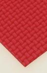 EVA материал /микропореста гума/ 2 мм А4 20x30 см релефен фигурален червен