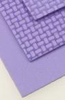 EVA материал /микропореста гума/ 2 мм А4 20x30 см релефен фигурален лилав светъл