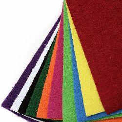 EVA материал /микропореста гума/ 2 мм А4 20x30 см имитация трева АСОРТЕ цветове -10 листа