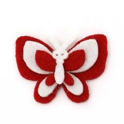 Fluture pâslă 32x43x8 mm 4 straturi -10 bucăți