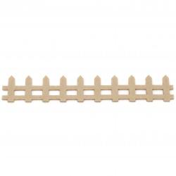 Ограда филц 35x200x2 мм бежова -4 броя