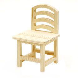 Стол дърво 95x90x155 мм за декорация