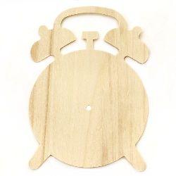 Baza ceasului din lemn 195x265 mm ceas cu alarm alb