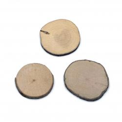 Шайба дърво 40~50x5 мм -10 броя