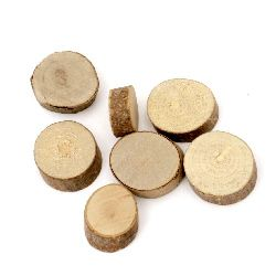 Wooden washer 10-15x5 mm -20 grams