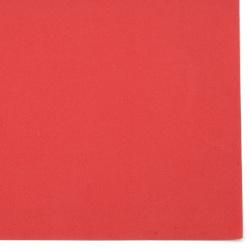 Фоамиран /микропореста гума/ 0.8±0.9 мм 50x50 см цвят червен