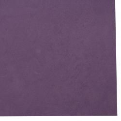 EVA foam for decoration of invitations, notebooks, boxes 0.8~0.9 mm 50x50 cm color dark purple