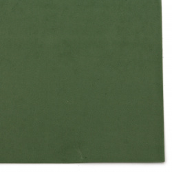 Decorative EVA foam A4 sheet 20x30 cm,  for scrapbook projects & craft ideas 2 mm green dark
