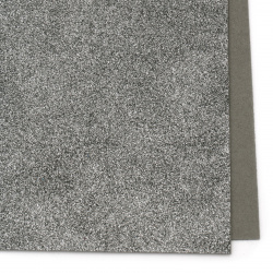 Dark gray EVA foam A4 sheet 20x30 cm with glitter for scrapbook projects & craft ideas 2 mm