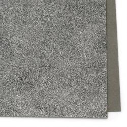 EVA материал /микропореста гума/ 2 мм А4 20x30 см с брокат сив тъмно