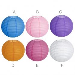 Χάρτινο διακοσμητικό φανάρι 25 cm Ποικιλία χρωμάτων