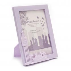 Rama foto London-big ben 13x18 cm culoare violet
