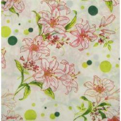 Napkin for Decoration Decoupage Flowers 2-ply, 33x33cm, 1 piece
