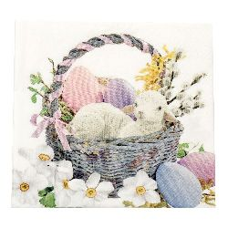 Napkin for Decoupage Decoration 33x33 cm three-layer -1 piece