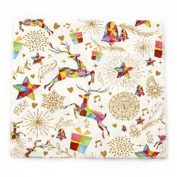 Χαρτοπετσέτα για  Decoration  33x33 cm  -1 τεμάχιο