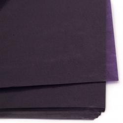 Оризова восъчна хартия 42 гр/м2 70x100 см FOLIA TRANSPARENT PAPER виолетова