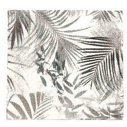 Салфетка HOME FASHION 33x33 см трипластова Green Soul -1 брой
