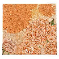 Салфетка HOME FASHION 33x33 см трипластова Pure and Strong orange -1 брой