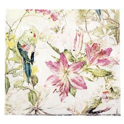 Салфетка HOME FASHION 33x33 см трипластова Flora and Fauna -1 брой