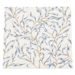 Салфетка HOME FASHION 33x33 см трипластова Azure Leaves -1 брой
