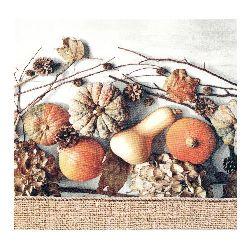 Салфетка HOME FASHION 33x33 см трипластова Muddle of Pumpkins -1 брой