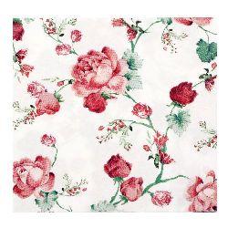 Салфетка HOME FASHION 33x33 см трипластова Cottage Roses -1 брой